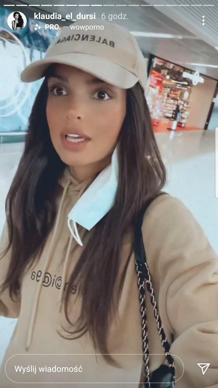 Klaudia zrelacjonowała wyprawę na Instagramie       ///https://www.instagram.com/klaudia_el_dursi/ /Instagram