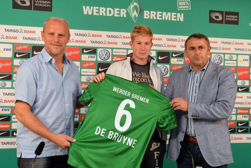 Klaus Allofs (z prawej) zrezygnował ze stanowiska dyrektora sportowego w Werderze Brema /AFP