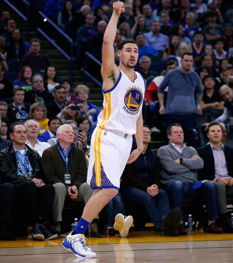 Klay Thompson z Golden State Warriors /AFP