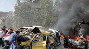 Kłęby dymu unoszą się nad Damaszkiem. Rano doszło tam do dwóch zamachów