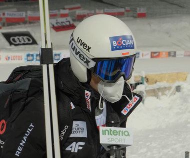 Klemens Murańka po kwalifikacjach w Zakopanem. Wideo
