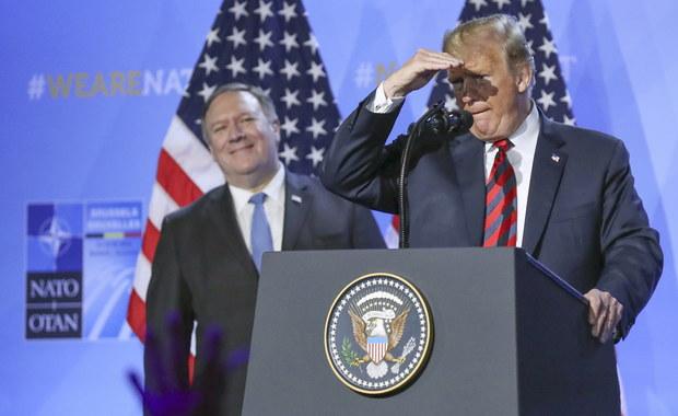 Klich o wystąpieniu Trumpa na szczycie NATO: Wejście smoka