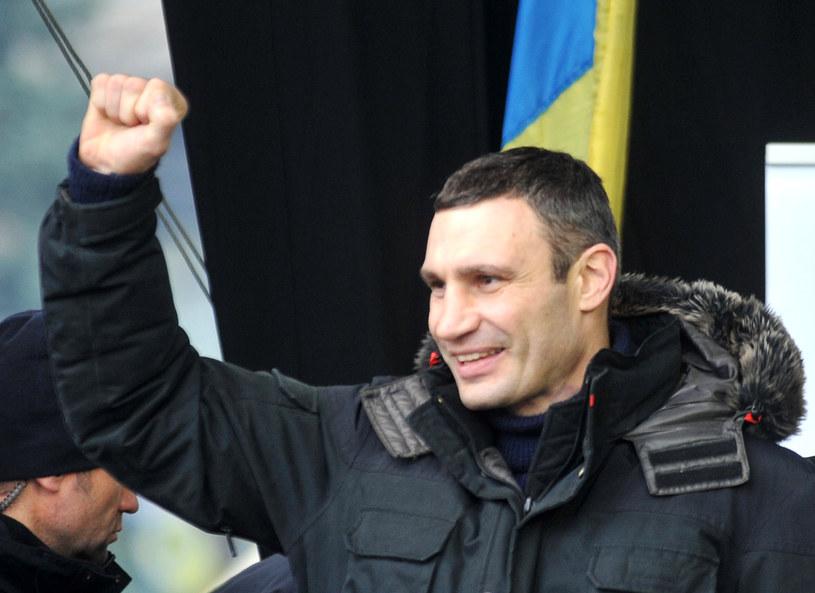 Kliczko apeluje do UE o solidarność z demonstrantami /AFP