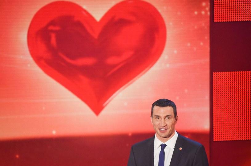 """Kliczko podczas gali """"Serce dla dzieci"""" /AFP"""