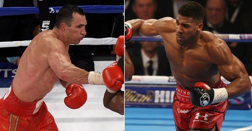 Kliczko vs Joshua /AFP