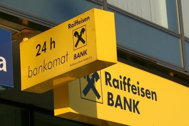 Klient Raiffeisen Banku pozywa ten bank za kredyt hipoteczny we frankach. Fot. Maciej Gocloń /Agencja SE/East News