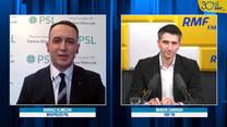 Klimczak: Informacje o koalicji PSL z PiS? Czujemy się jak osoba ochlapana przez autobus