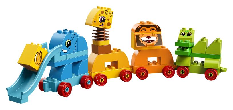 Klocki LEGO Duplo Pociąg ze zwierzątkami /materiały prasowe