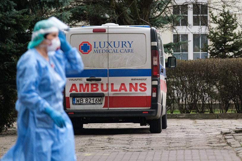 Kłopot z kadrami medycznymi w Polsce. /Mateusz Grochocki /East News