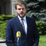 Kłótnia na konferencji między posłami KO i wiceministrem. Cieszyński pokazał SMS-a od Neumanna