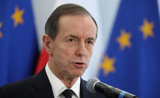 Kłótnia na posiedzeniu Senatu. KO chce ukrania wiceministra spraw zagranicznych
