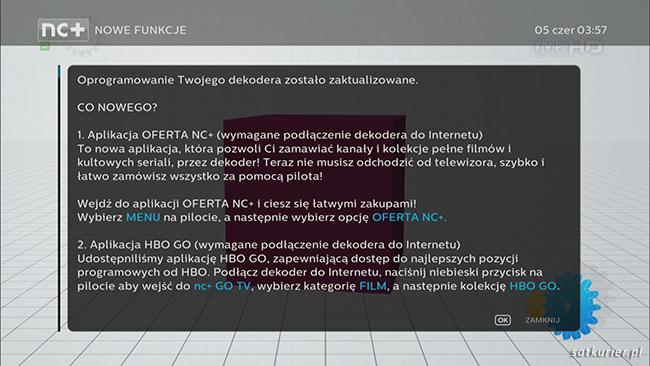 Kluczowe zmiany z nowej wersji oprogramowania dekodera 4K UltraBOX+ /SatKurier