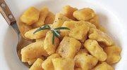 Kluseczki marchewkowe z masłem rozmarynowy