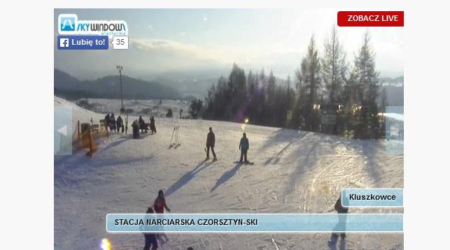 Kluszkowce - stacja górna /http://www.czorsztyn-ski.com.pl/ /