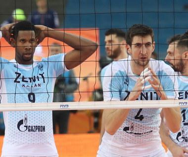 KMŚ siatkarzy. Sada Cruzeiro - Zenit Kazań 0:3 w półfinale