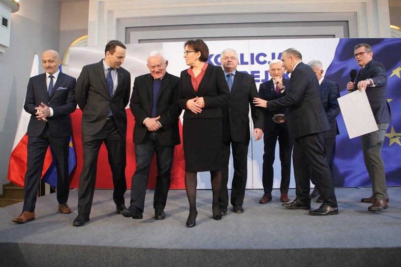 Koalicja Europejska /Tomasz Jastrzębowski /Reporter