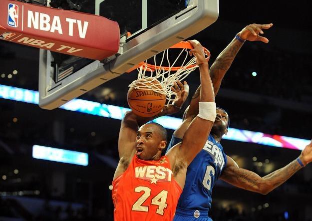 Kobe Bryant był najlepszym graczem 60. Meczu Gwiazd ligi NBA /AFP
