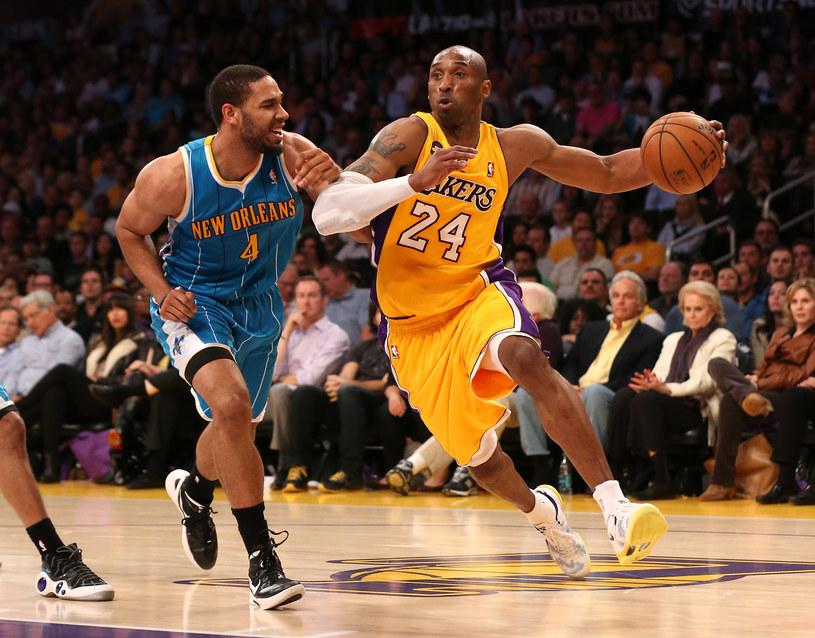 """Kobe Bryant był poza zasięgiem defensywy """"Szerszeni"""" /AFP"""