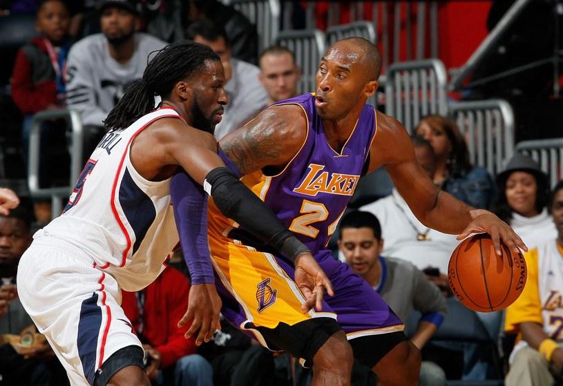 Kobe Bryant, gwiazda Los Angeles Lakers /AFP