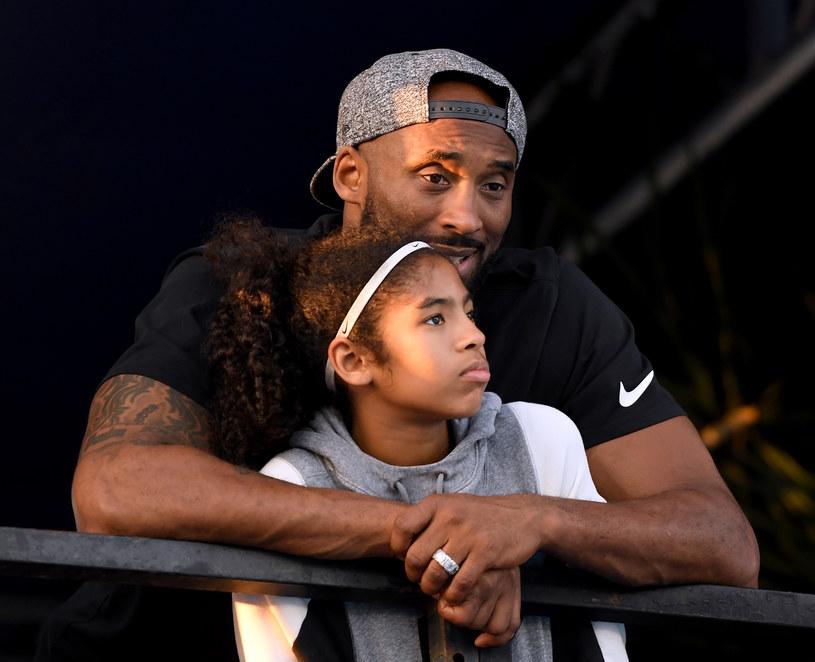 Kobe Bryant z córką Gianną /Harry How /Getty Images