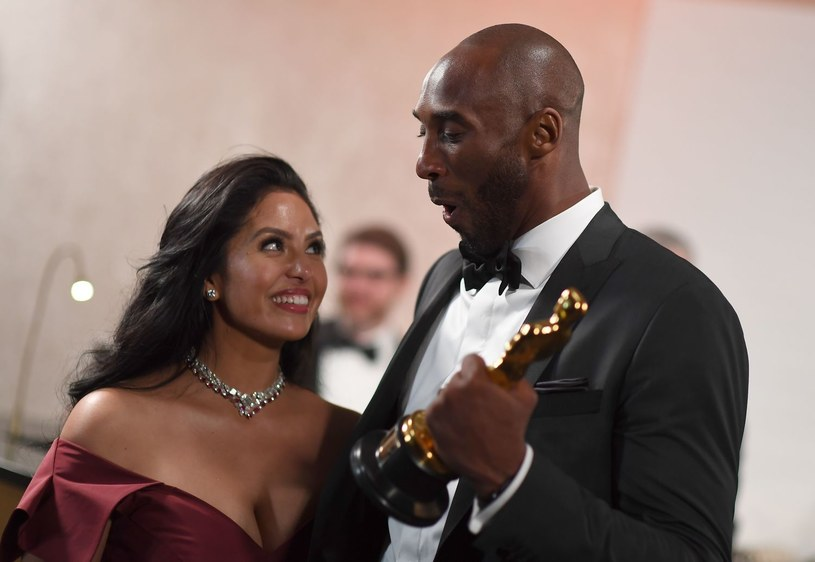 Kobe Bryant z żoną Vanessą /AFP