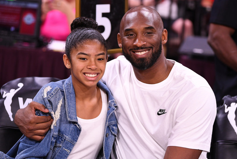 Kobe z córką /USA TODAY Network/Sipa USA/East News /East News