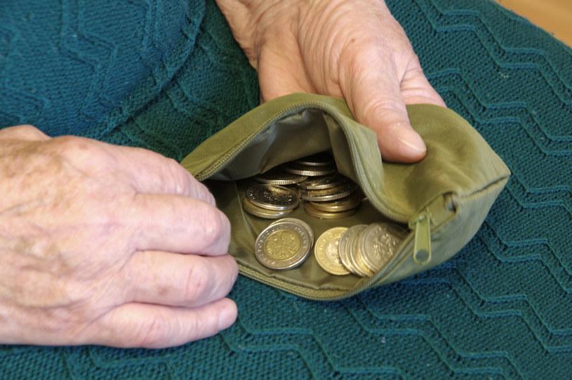 Kobieta dostaje 31 groszy emerytury /Marek Bazak /East News