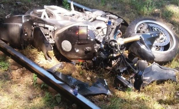 Kobieta śmiertelnie potrącona przez motocykl. Kierowca nie miał uprawnień