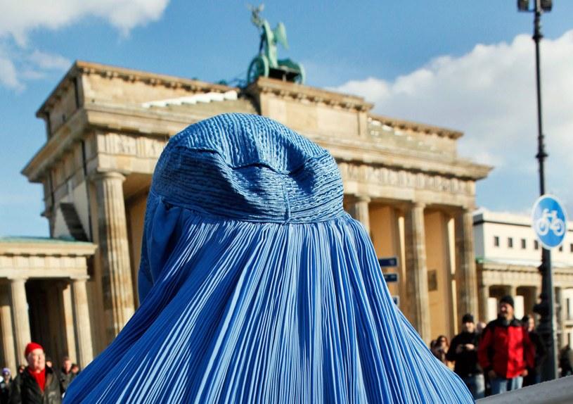 Kobieta w burce /AFP