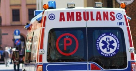 Kobieta wraz z dzieckiem trafiła do szpitala /Maciej Nycz /RMF FM