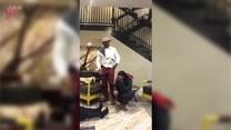 Kobieta została znokautowana tubą z konfetti