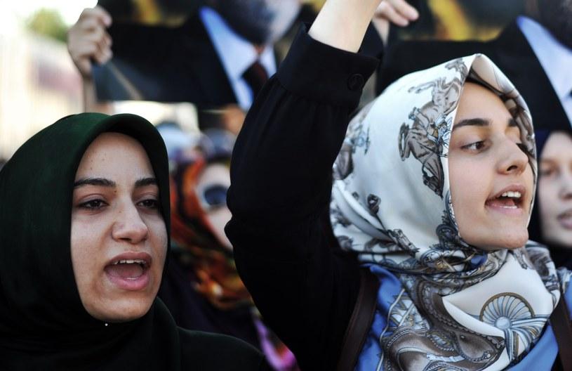 Kobiety protestowały przeciwko kontrowersyjnej wypowiedzi /AFP