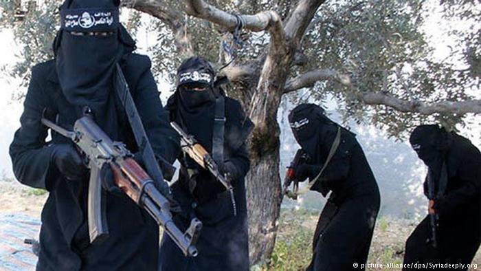 Kobiety także aktywnie walczyły w szeregach tzw. Państwa Islamskiego /Deutsche Welle