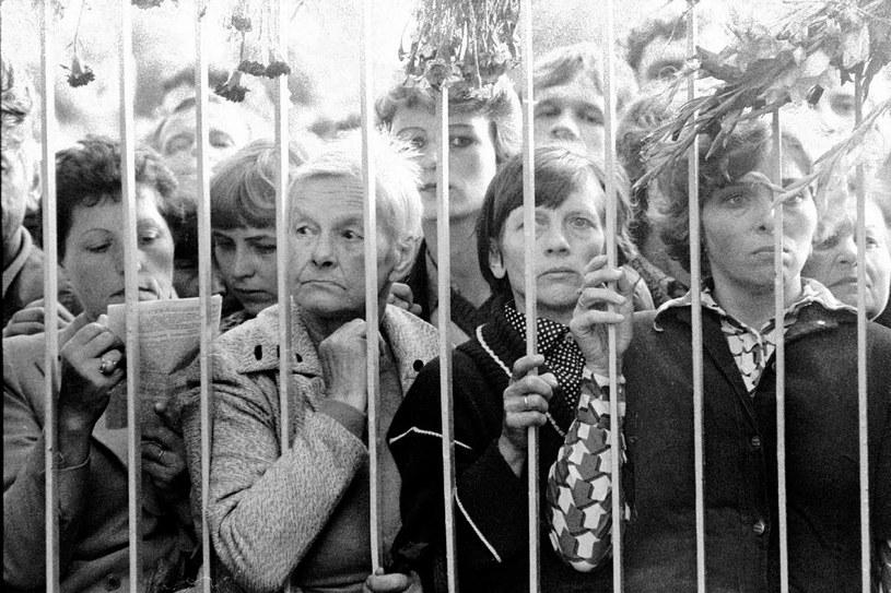 Kobiety w Stoczni Gdańskiej, Sierpień 1980 /REPORTER /East News