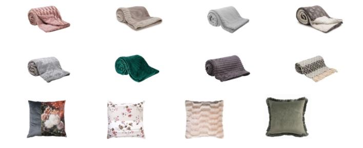 Koce i poduszki dostępne w Salonach Agata /materiały prasowe