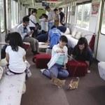 Kocia kawiarnia w japońskim pociągu