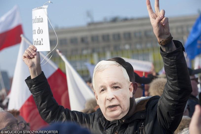 KOD nie odpuszcza PiS-owi, Jarosław Kaczyński nie pozostaje mu dłużny /Wojciech Strozyk/REPORTER /East News
