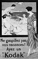 Kodak, francuska reklama z 1925 r. /Encyklopedia Internautica