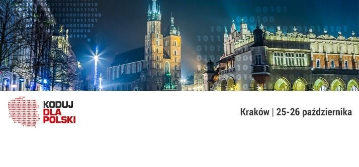 Koduj dla Polski - impreza odbędzie się już w najbliższy weekend /materiały prasowe