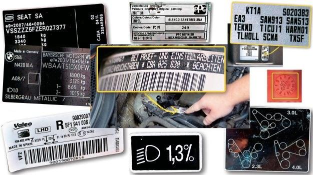 kody w aucie /Motor