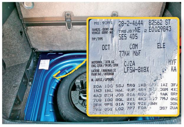 kody wyposażenia auta /Motor
