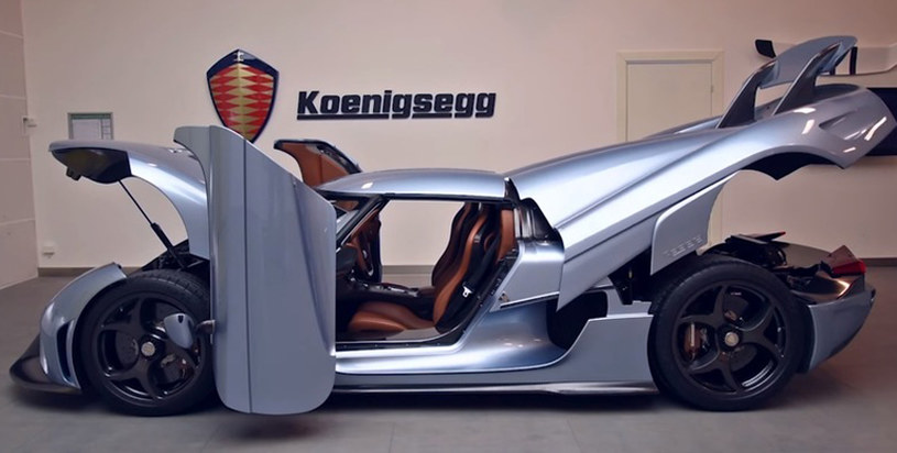 Koenigsegg Regera /