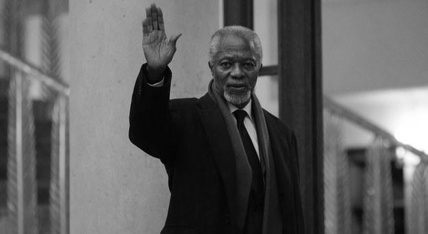 Kofi Annan /YOAN VALAT  /PAP/EPA