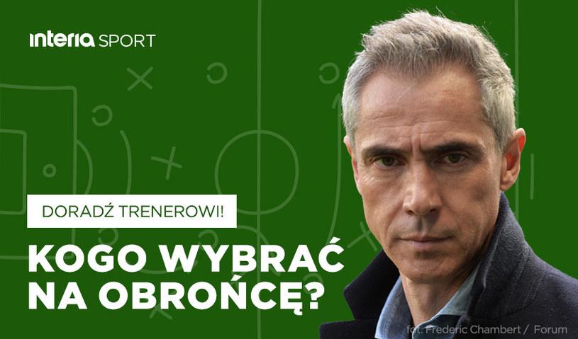 Kogo Paulo Sousa powinien desygnować do gry na środku obrony? /INTERIA.PL