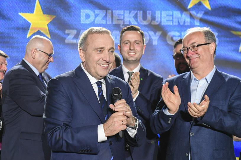 Kogo Polacy uważają za lidera opozycji? /Jacek Domiński /Reporter
