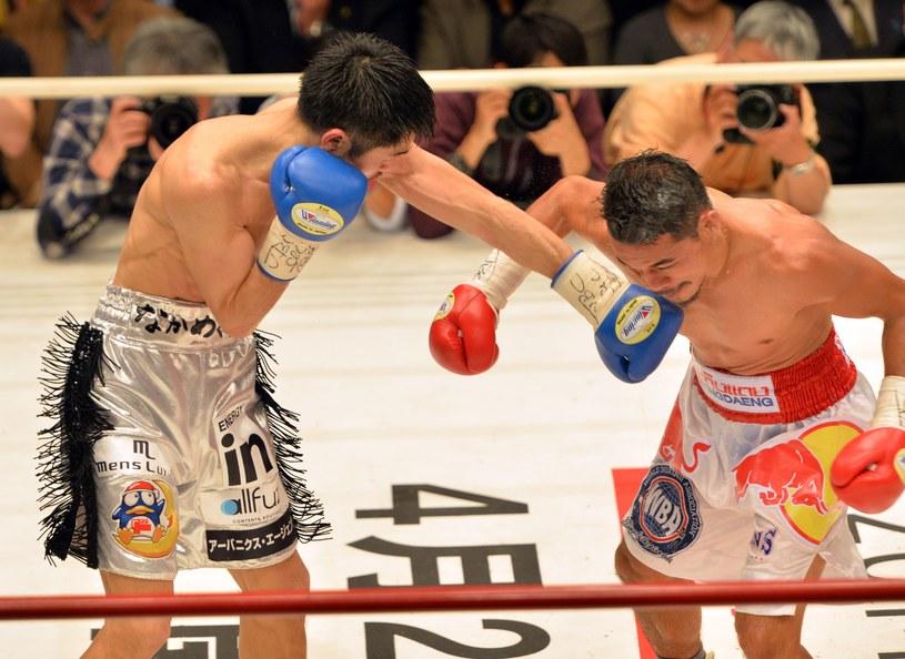 Kohei Kono (z lewej) i Denkaosen Kaovichit /AFP