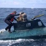 Kokaina warta 165 mln dolarów na pokładzie. Służby przejęły narkotykową łódź podwodną