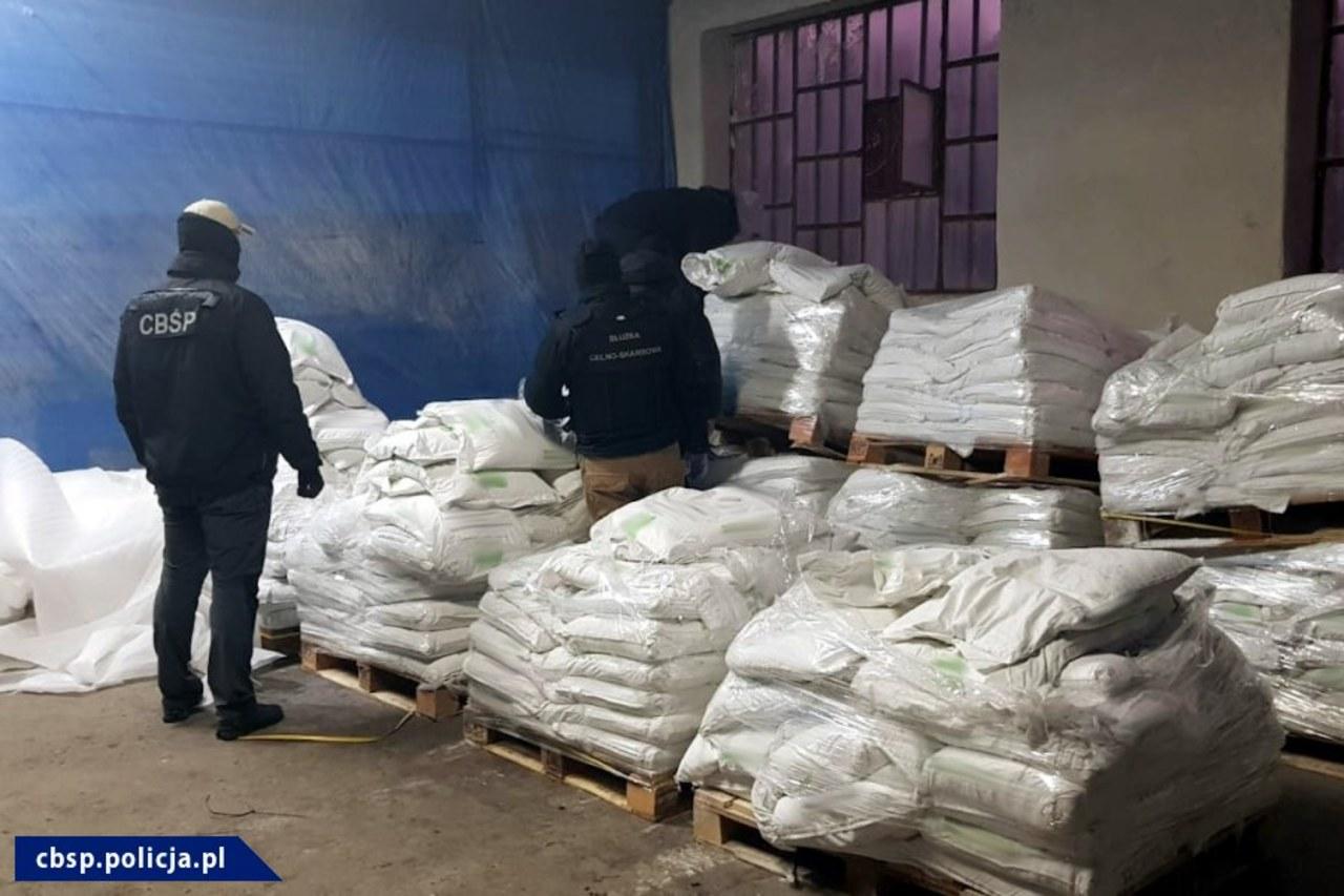 Kokaina za ponad dwa miliardy złotych przechwycona przez polskie służby