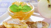 Kokosowe placuszki z jabłkami