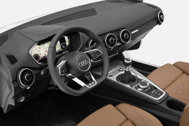 Kokpit Audi TT nowej generacji /